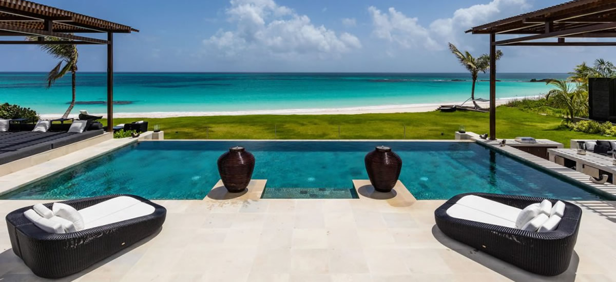 Luxury beachfront home for sale in Eleuthera, Bahamas
