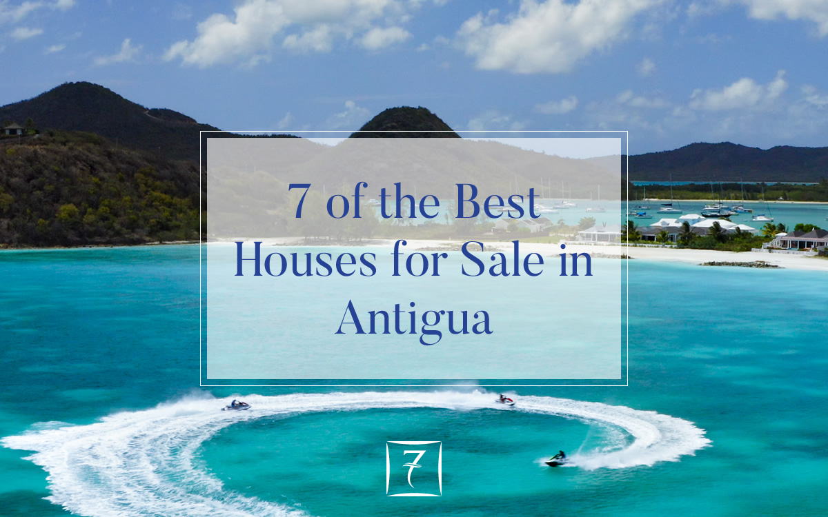 7 of the best houses for sale in Antigua