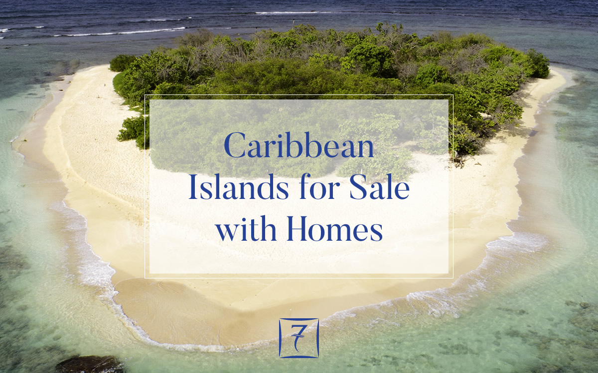 Caribbean islands for sale with homes