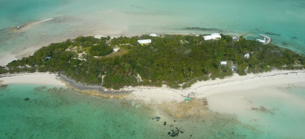 Trio of islands for sale with 2 homes in Andros, Bahamas