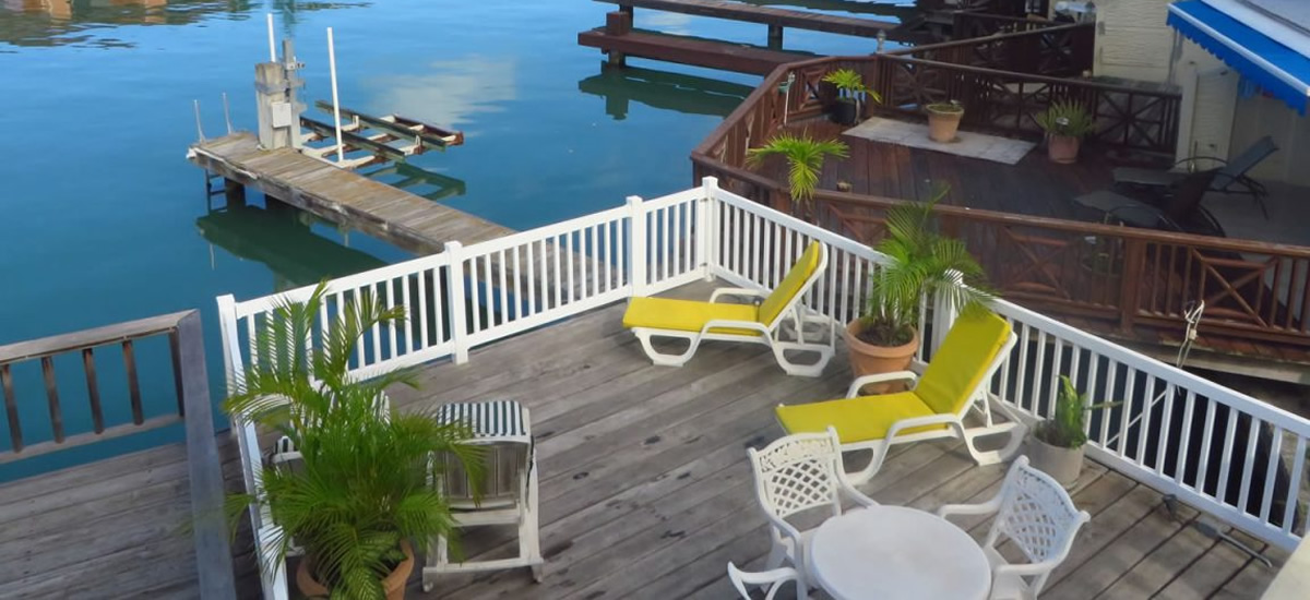 Waterfront villa for sale in Jolly Harbour, Antigua