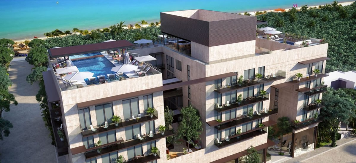 Apartments for sale in Playa del Carmen, Mexico
