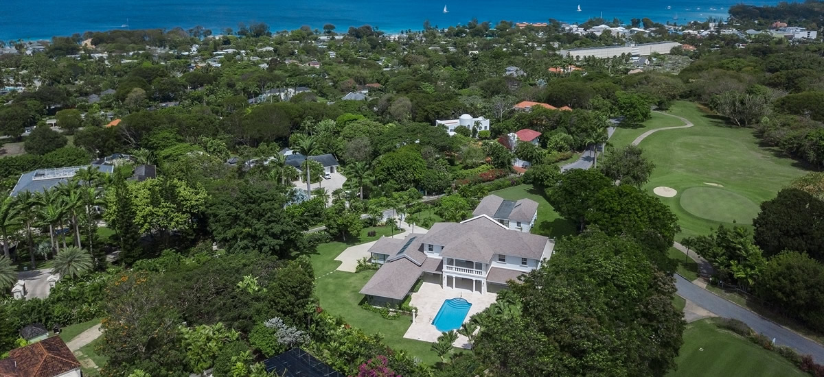 Golf home for sale in Sandy Lane, Barbados