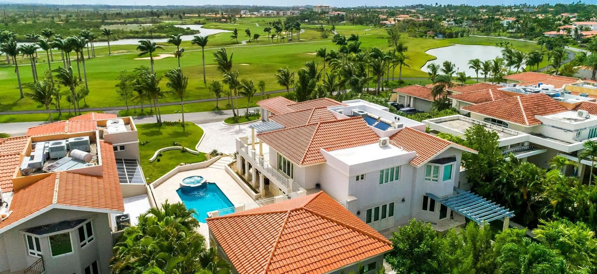 Golf home for sale in Dorado Beach, Puerto Rico