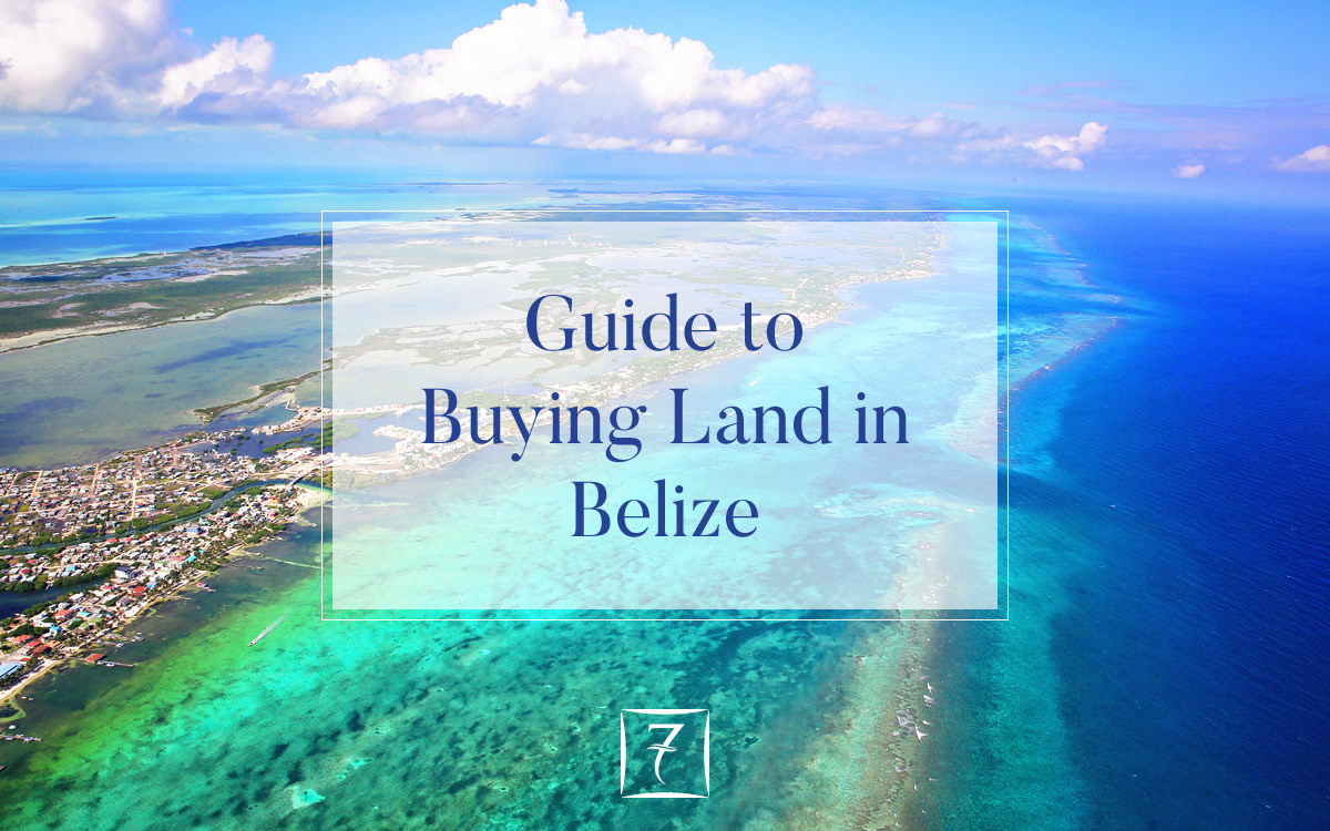 Guide to buying land in Belize