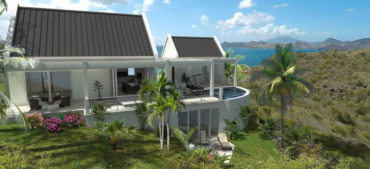 House for sale in Nevis