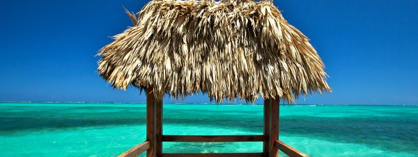 Palapa in Ambergris Caye, Belize
