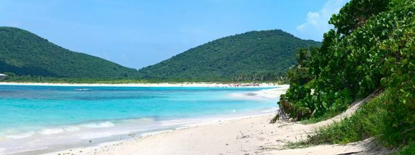 Beautiful beach in Culebra, Puerto Rico