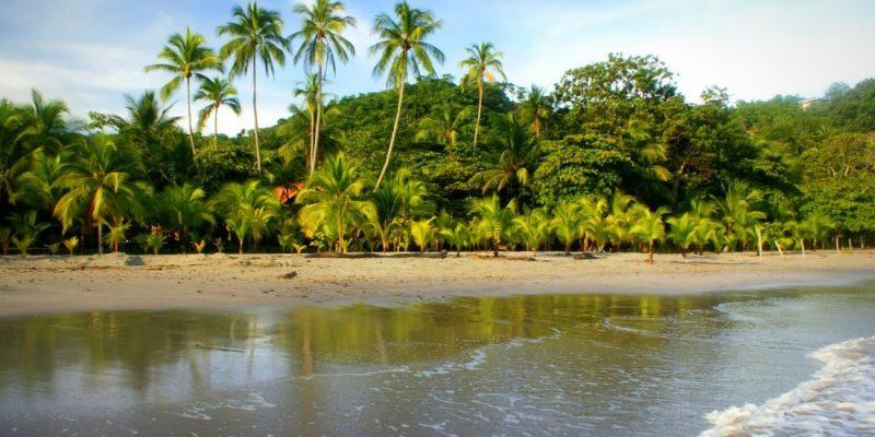 Wild beach in Costa Rica