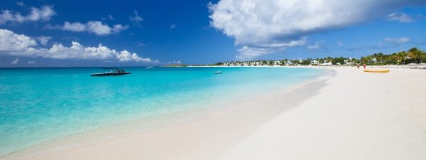 Beautiful beach in Anguilla