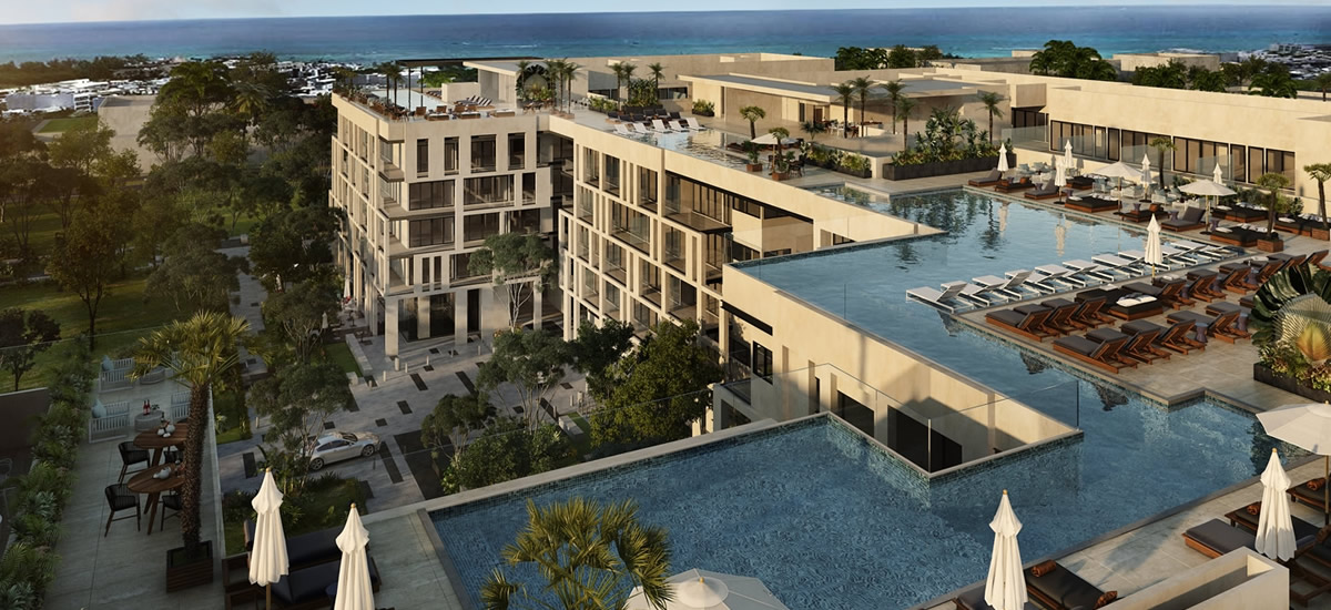 Condos for sale in Midtown, Playa del Carmen, Mexico