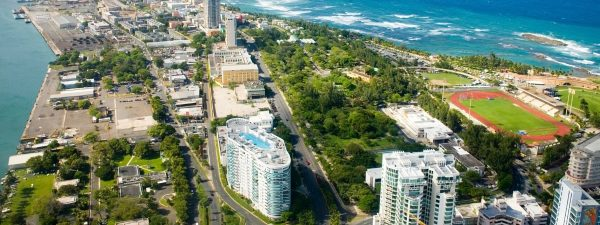 San Juan, Puerto Rico - aerial view