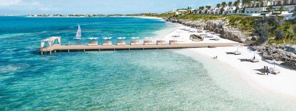 Rock House resort in Providenciales, Turks & Caicos Islands