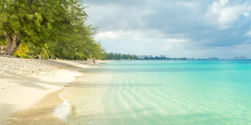 Seven Mile Beach, Grand Cayman in the Cayman Islands