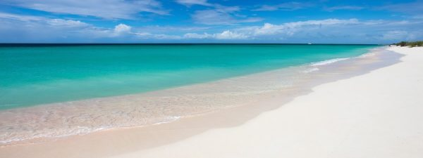 Beautiful beach in Barbuda