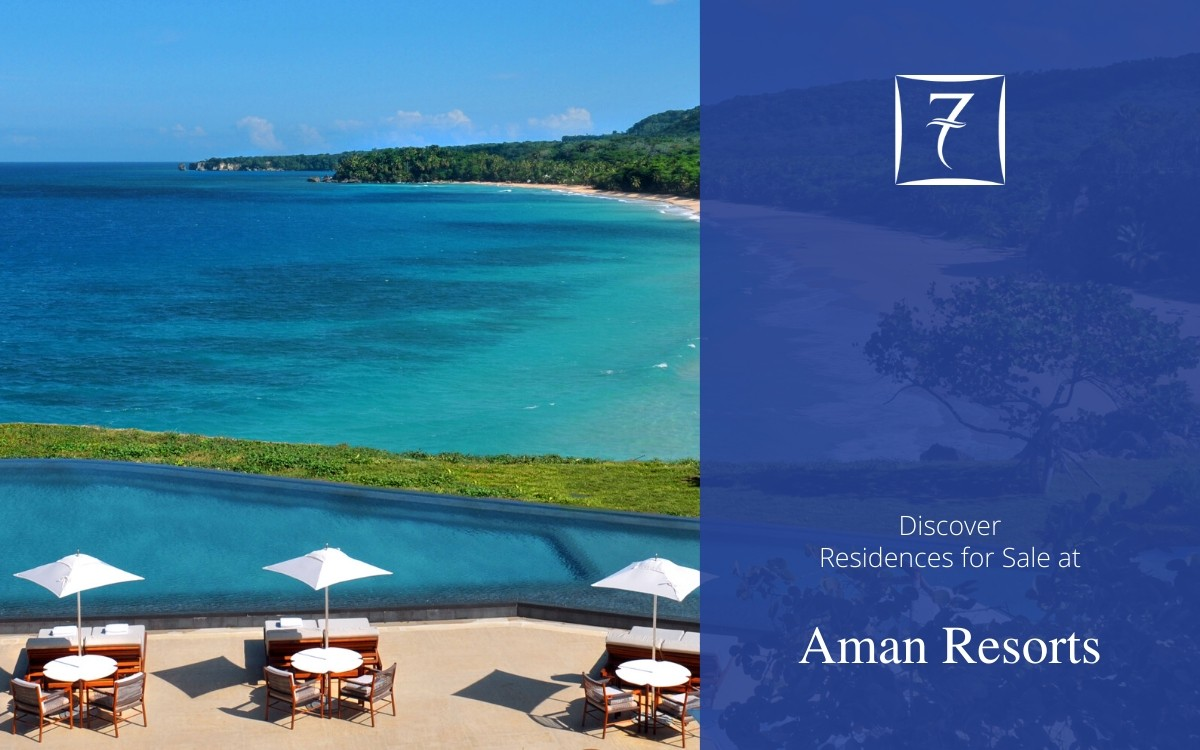 Discover residences for sale at Aman Resorts