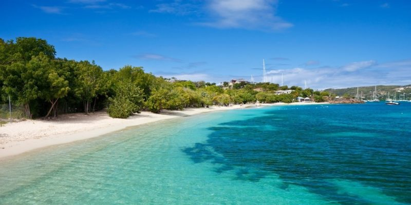Pigeon Point Beach, Antigua