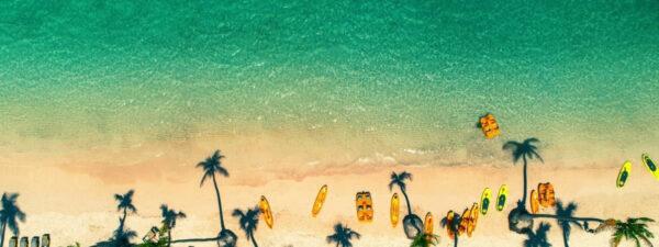 Bavaro Beach in the Dominican Republic