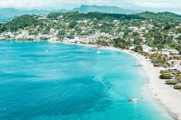 Beautiful beach in Grenada